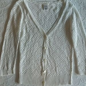 Old Navy Crochet Cardigan